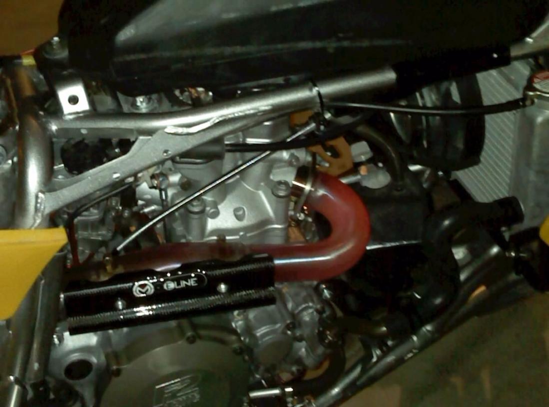 Red Hot Header Pipe Yamaha Yfz450 Forum Yfz450