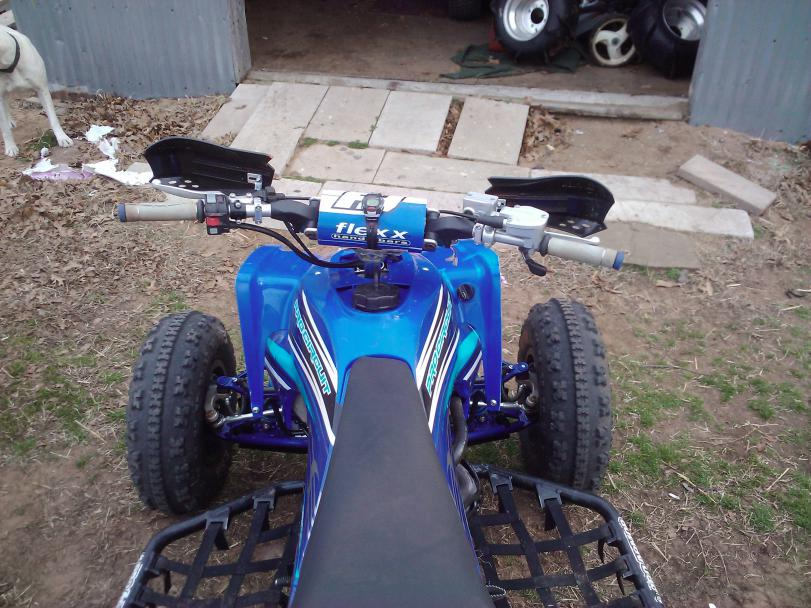 with shaved fenders Yfz450