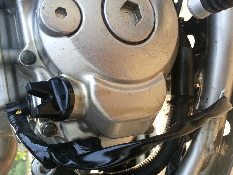Oil leak around crankcase - Yamaha YFZ450 Forum : YFZ450, YFZ450R