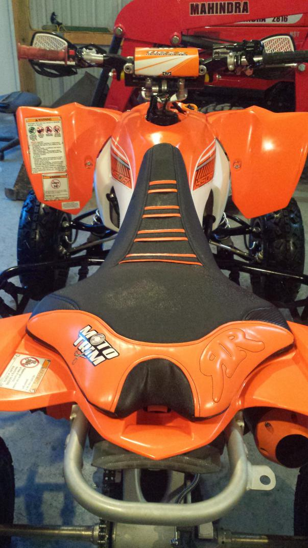 Quadtech seat cover for Yamaha collinsville il