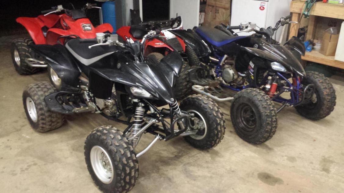 Sold girlfriends LTZ400 and got 2012 YFZ - Yamaha YFZ450 Forum ...