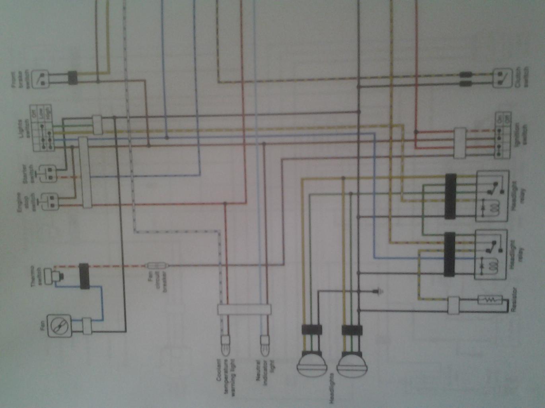 Help with 08 YFZ wiring?   YFZ CentralYFZ Central