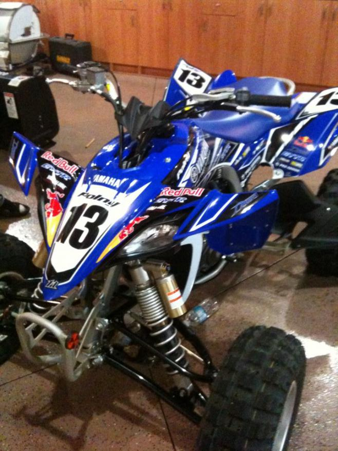 E Sticky Graphics Install Yamaha Yfz450 Forum Yfz450