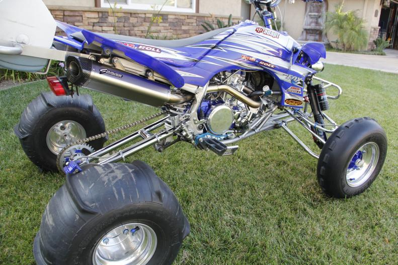 1st Post   Introductions - Graves Motorsports YFZ450 Exhaust