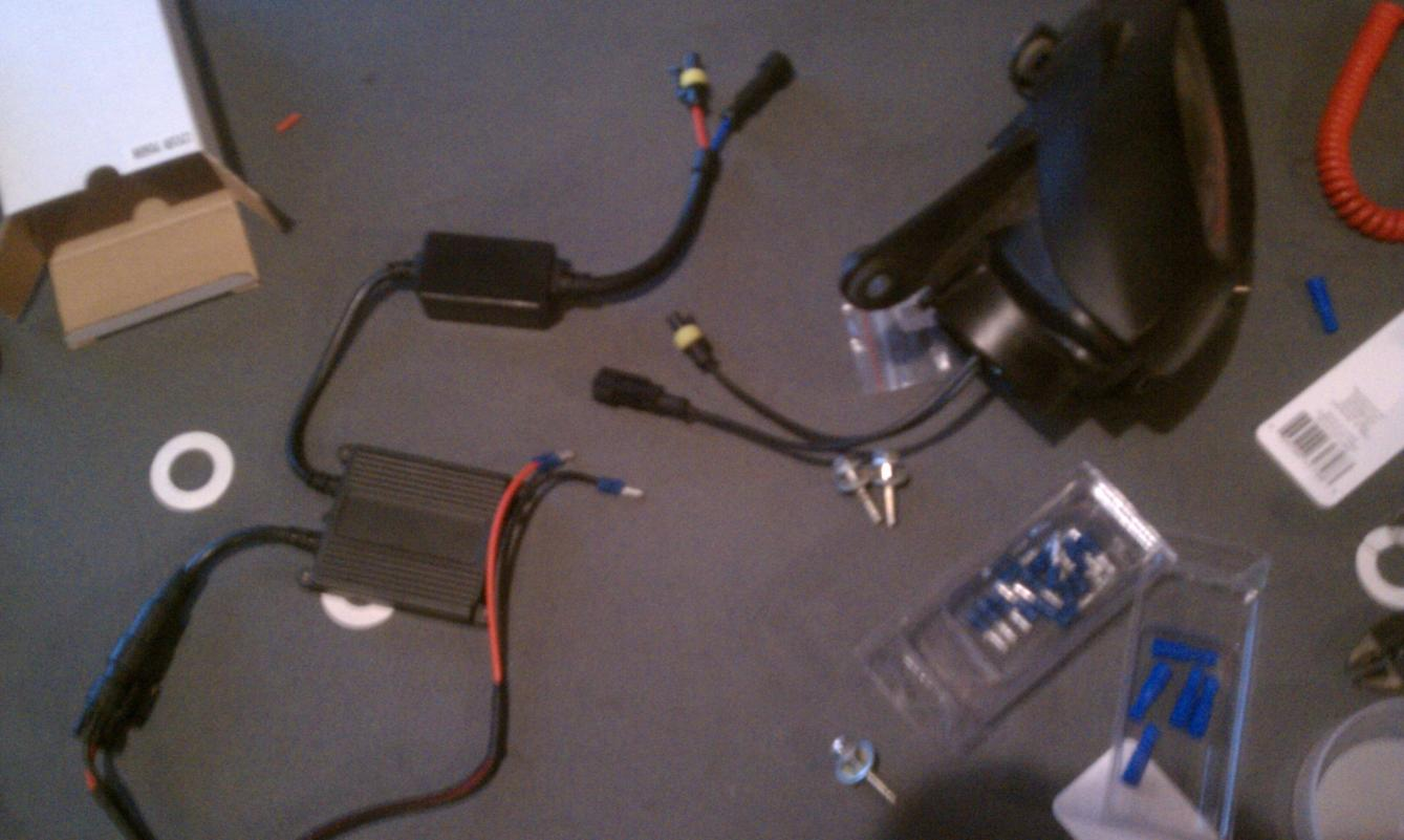 Getting Frustrated, ddm tunning hid kit install - Yamaha ... on