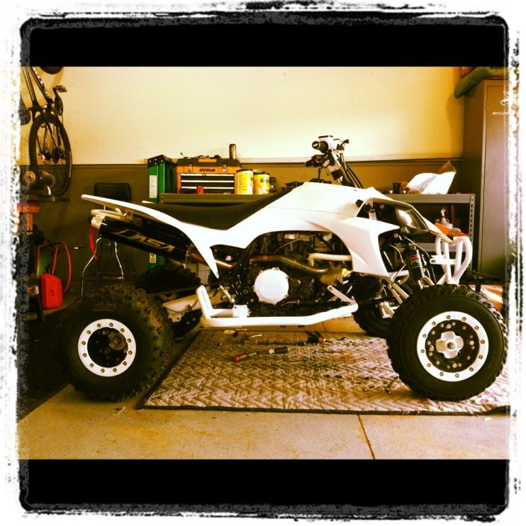 Quad build complete frame off check it out lots of custom work-imageuploadedbytapatalk1339120898.766608.jpg