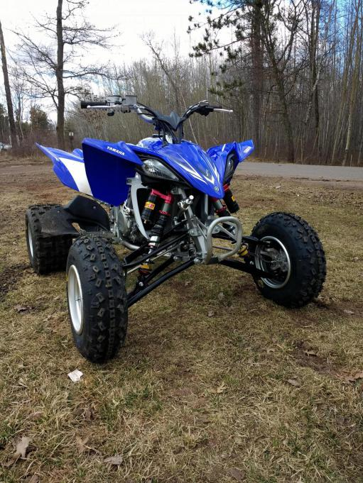 Elka Legacy Series with rebound - Yamaha YFZ450 Forum