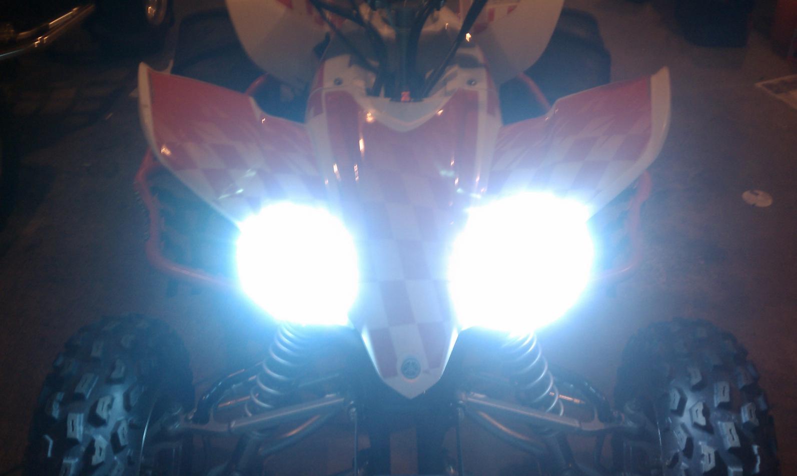55 Watt HIDs with Ricky Stator - Yamaha YFZ450 Forum