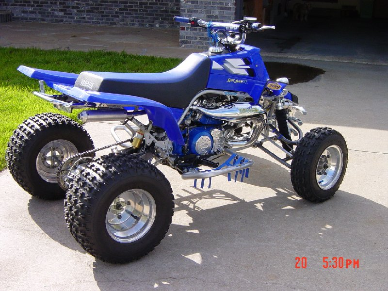 Yamaha Banshee Trail Build