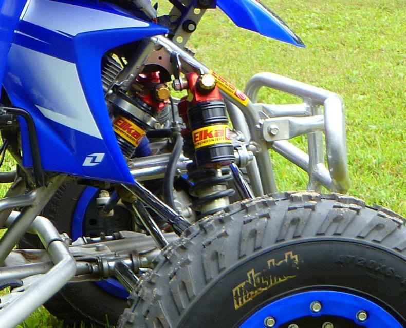 Elka rear shock mounting - Yamaha YFZ450 Forum : YFZ450, YFZ450R